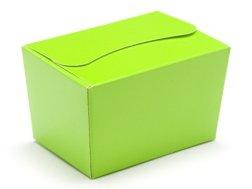 100g Ballotin - Vibrant Green | Meridian Speciality Packaging