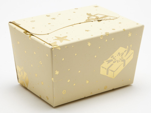 100g Trees and Presents Ballotin | Meridian Speciality Packaging