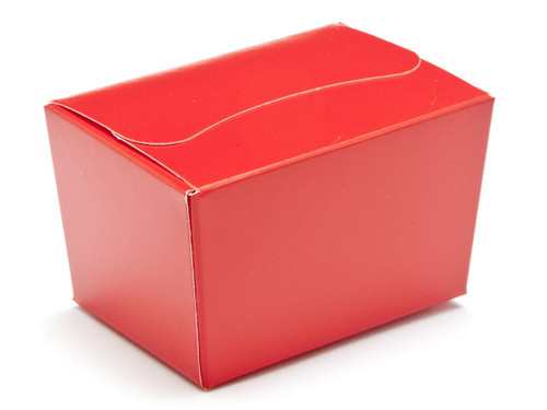 100g Ballotin - Red | Meridian Speciality Packaging