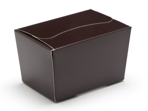 100g Ballotin - Chocolate Brown | Meridian Speciality Packaging