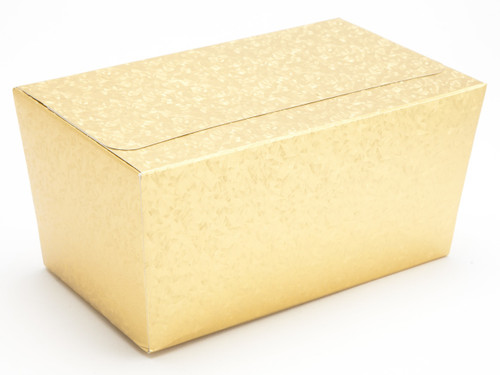 1000g Ballotin - Embossed Gold | Meridian Speciality Packaging