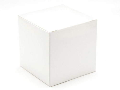 80mm Cube Carton - White | Meridian Speciality Packaging