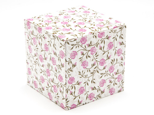 80mm Cube Carton - Rose | Meridian Speciality Packaging