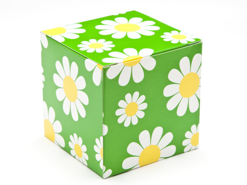 80mm Cube Carton - Daisy | Meridian Speciality Packaging