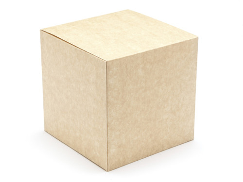 60mm Cube Carton - Natural Kraft | Meridian Speciality Packaging
