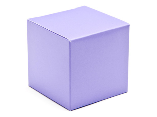 60mm Cube Carton - Lilac   Meridian Speciality Packaging
