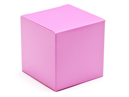 60mm Cube Carton - Electric Pink | Meridian Speciality Packaging