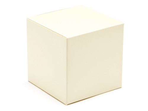 60mm Cube Carton - Cream   Meridian Speciality Packaging