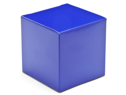 60mm Cube Carton - Blue   Meridian Speciality Packaging