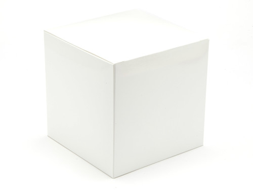 120mm Cube Carton - White | Meridian Speciality Packaging