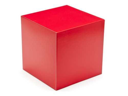 120mm Cube Carton - Red | Meridian Speciality Packaging