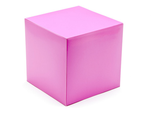 120mm Cube Carton - Electric Pink | Meridian Speciality Packaging