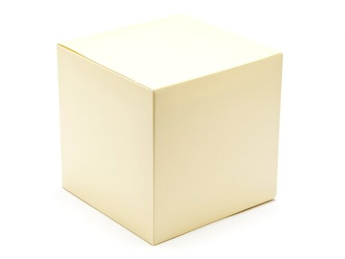 120mm Cube Carton - Cream   Meridian Speciality Packaging
