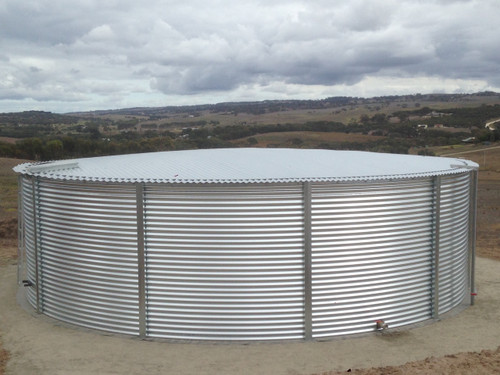 28 000 Gallon Aquamate Water Storage Tank