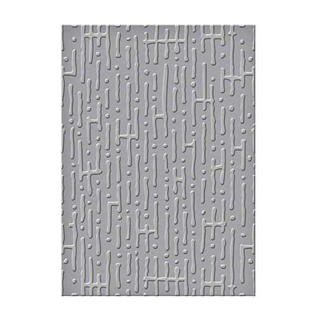 Seth Apter Em-bossing Fold'ers Maze 5 x 7 in Single Sided