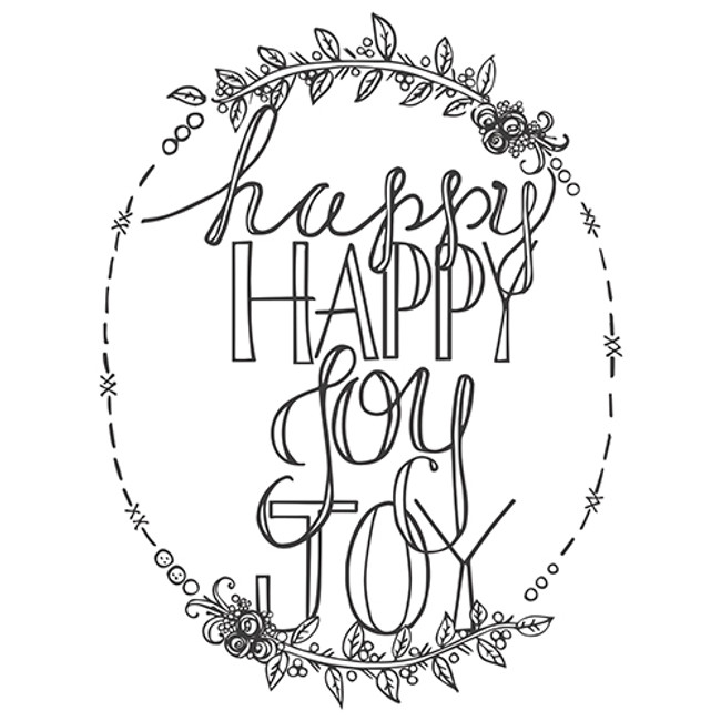 Stamps Tammy Tutterow Designs Happy Happy Joy Joy
