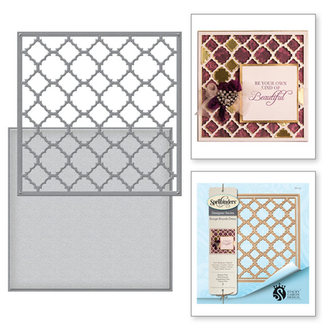 Card Creator French Flair Etched Dies from the Rouge Royale Deux Collection by Stacey Caron