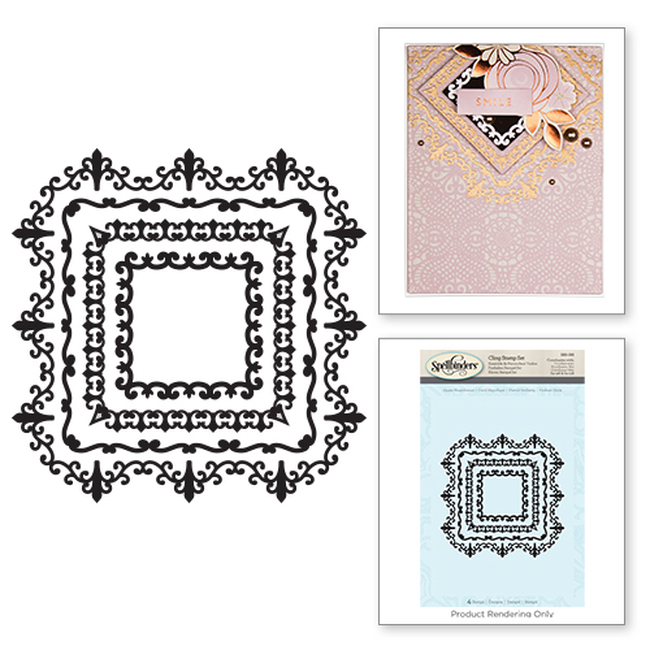 Square Magnificence Stamps