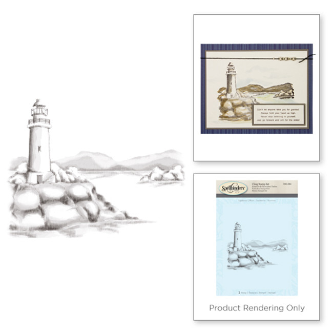 Lighthouse 3D Shading Stamps