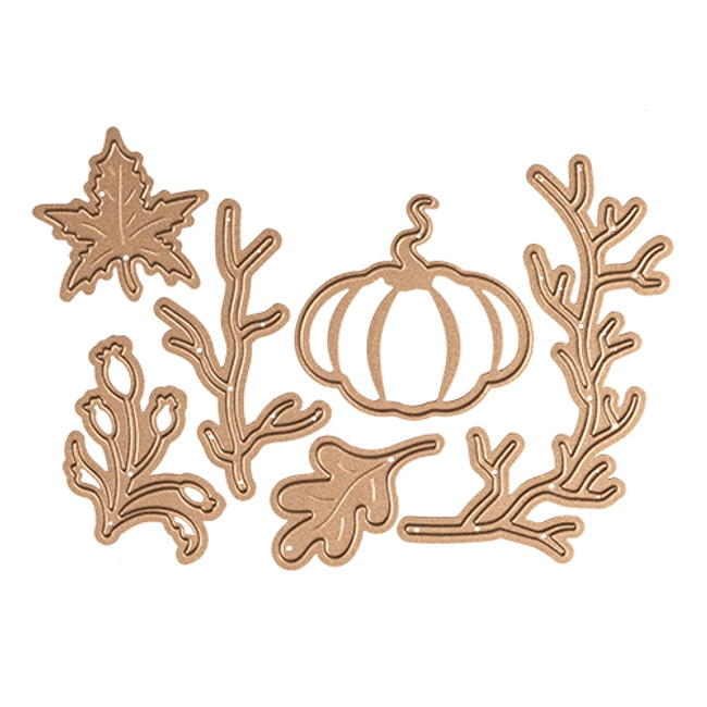 Fall/Thanksgiving Die Set - Small Die of the Month Club
