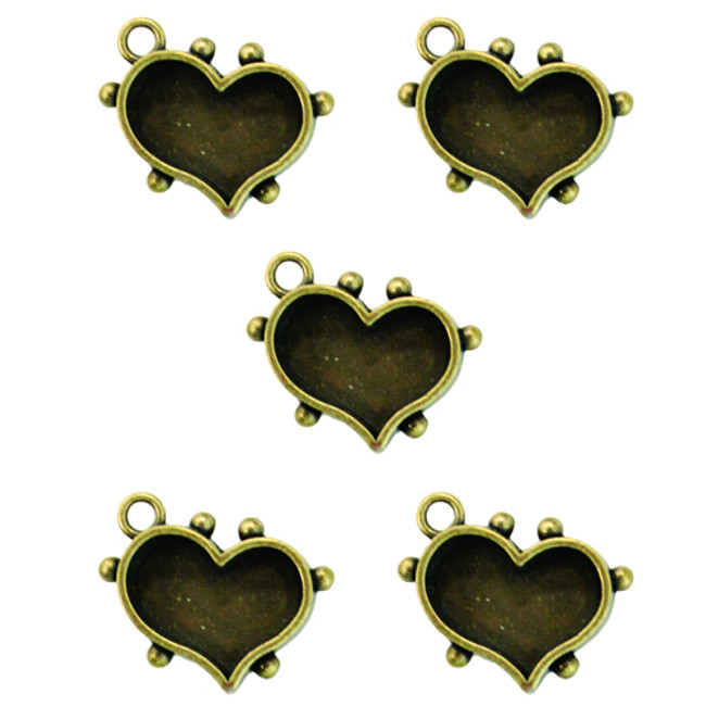 Media Mixage Hearts One - 5PK - Bronze