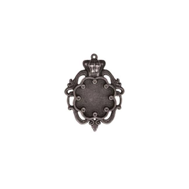 A Gilded Life Crown Bezel - Small - Silver