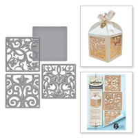 Shapeabilities Stacey Caron Botanical Box Inserts Etched Dies (S4-644)