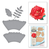 Shapeabilities Ruffled Flowers Wild & Free by Debi Adams Etched Dies