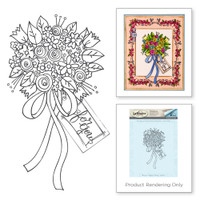 Flower Bouquet Stamp from the Happy Grams #2 Collection by Tammy Tutterow