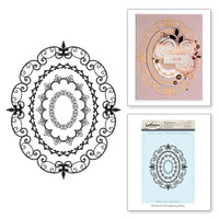 Oval Opulence Stamps