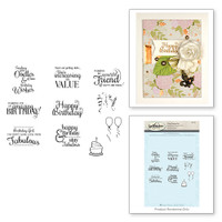 Classic Spellbinders Special Birthday Sentiments Stamps