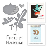 Market Fresh by Debi Adams Perfectly Radishing Stamp and Die Set