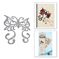 Die D-Lites Rebel Butterfly Etched Dies Rebel Rose by Stacey Caron