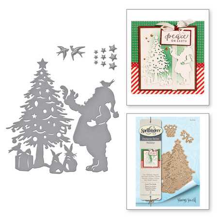 Shapeabilities Deck the Halls Holiday 2017 by Sharyn Sowell Etched Dies