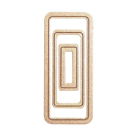 Media Mixage Rectangles One Etched Dies