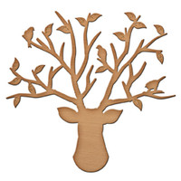 Shapeabilities Inspire Bird Stand Etched Dies