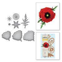 Shapeabilities Create A Poppy Etched Dies