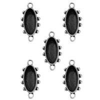 Media Mixage Ovals One - 5PK - Silver