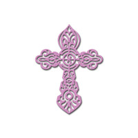 Die D-Lites Crosses 4 Etched Dies