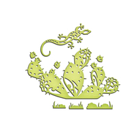 Shapeabilities Inspire Prickly Pair Etched Dies