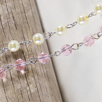 A Gilded Life Beaded Rosary Chain I Embellishments
