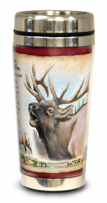American Elk 16-oz. Steel Travel Mug