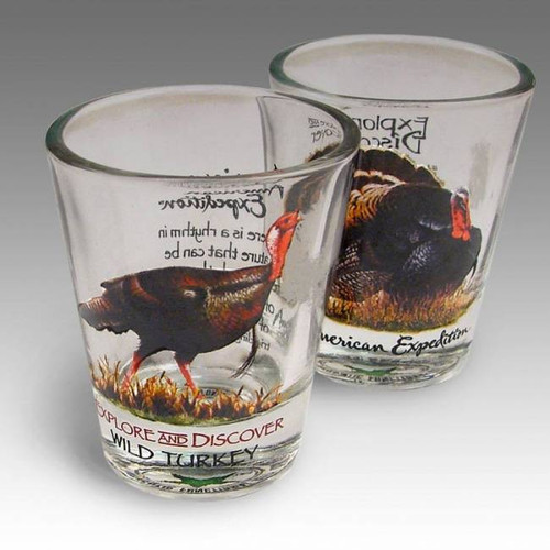 Wild Turkey Shot Glass Set
