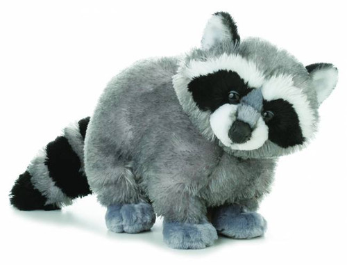 """Bandit"" Raccoon Plush Toy"
