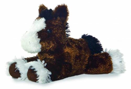 """Clydes"" Horse Plush Toy"