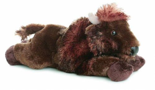 """Plains"" Plush Bison Toy"