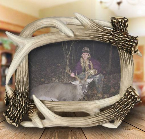 8x10 Antler Photo Frame