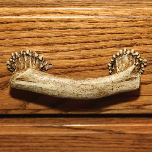 Deer Antler Drawer Handle