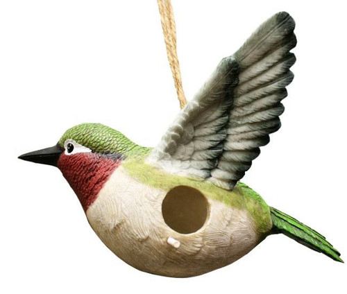 Plump Hummingbird Birdhouse