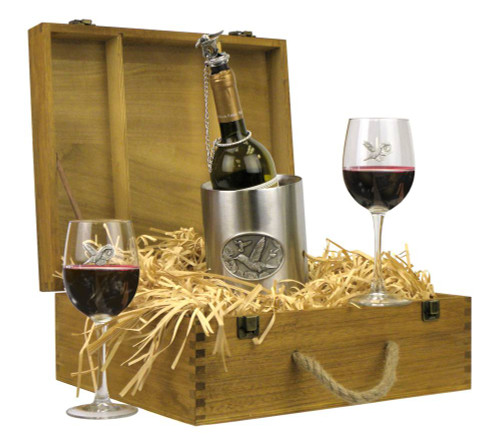 Hummingbirds Wine Boxed Gift Set